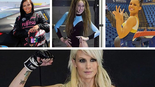 Renee Gracie, Erica Fontaine, Verona van de Leur y Cindy Dandois