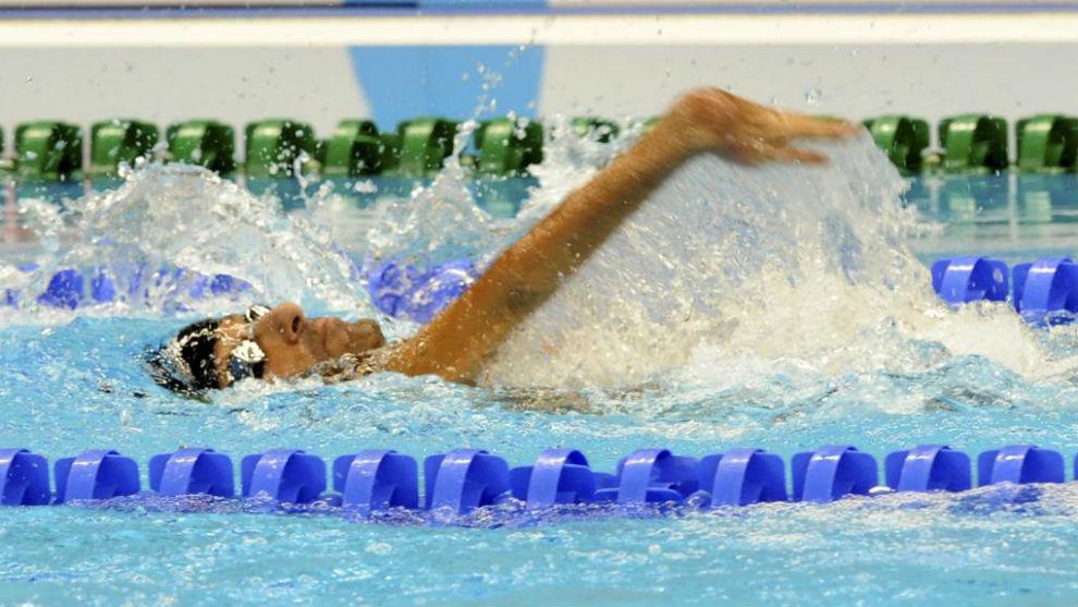 Miguel Ángel Martínez Tajuelo, en una competición.