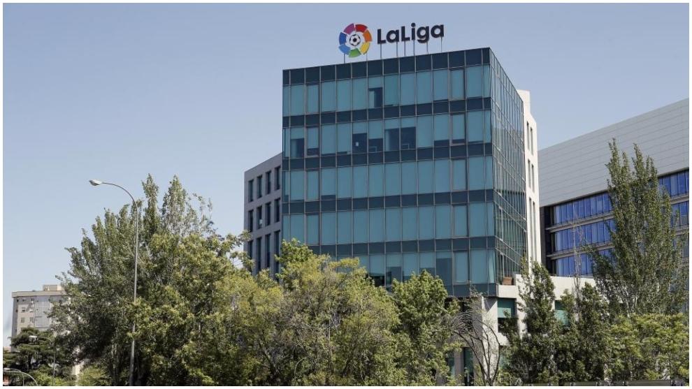 LaLiga headquarters in Madrid.