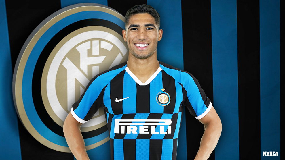 Achraf Hakimi joins Inter Milan from Real Madrid