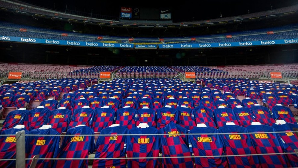 Barcelona to have 3,000 'fans' at the Camp Nou for Atletico Madrid match