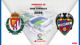 Valladolid - Levante | 1 de julio a las 22.00 horas