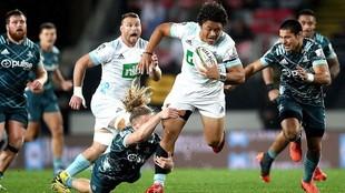Blues sigue en racha triunfal en el Super Rugby