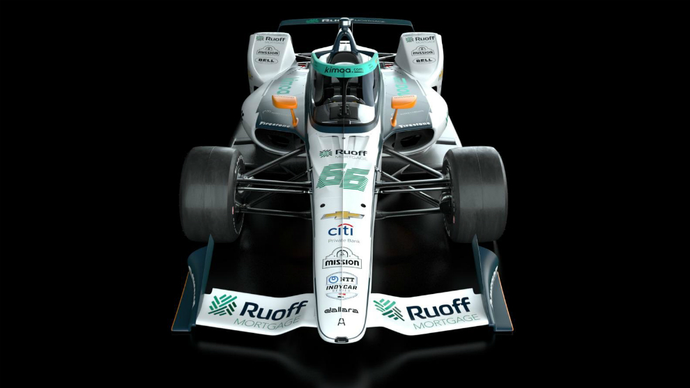 Presentaron el auto de Fernando Alonso para Indianápolis