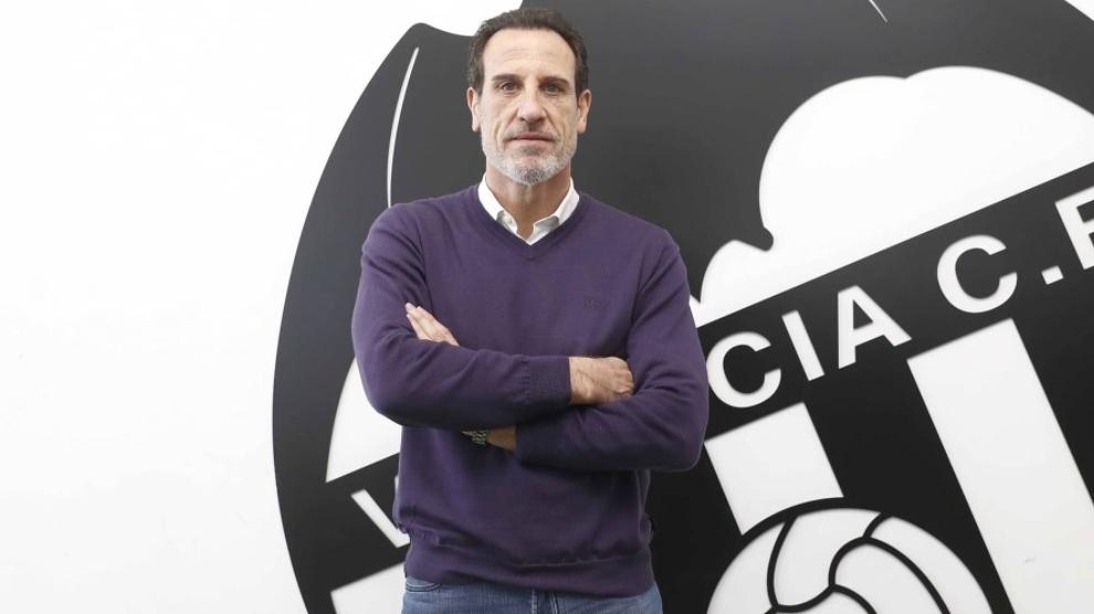 Voro, nuevo entrenador del Valencia hasta final de temporada.
