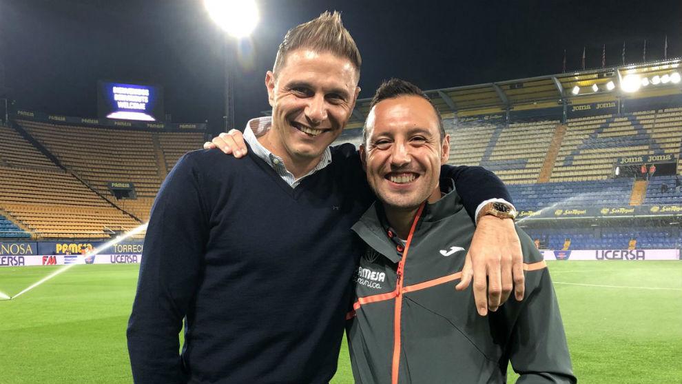Fueron compañeros en el Málaga la temporada 2011-12