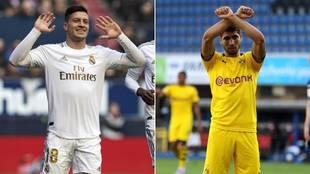 Jovic y Achraf Hakimi son algunos de los nombres del día en el...