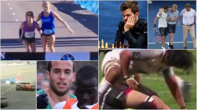 Algunos de los gestos más bonitos de la historia del deporte.