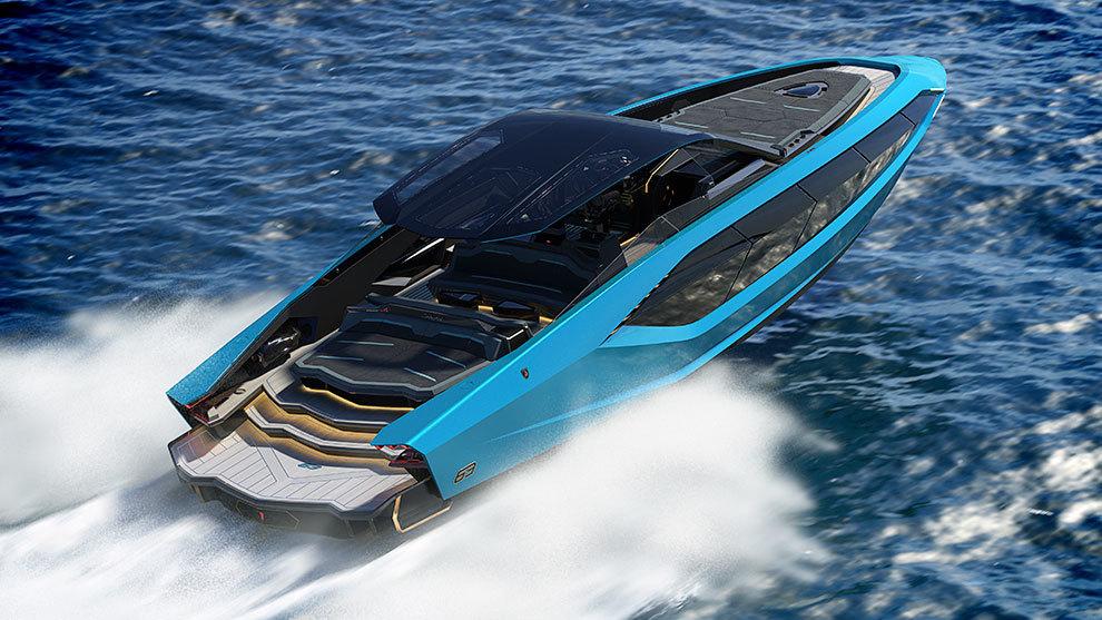 Las líneas de 'inspiración Lamborghini' son evidentes.