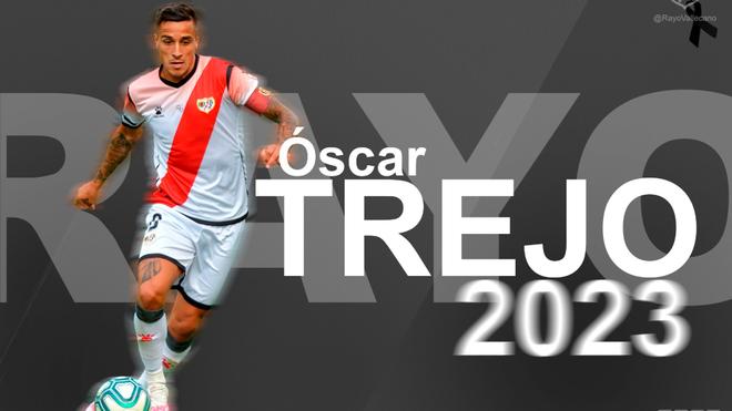 Óscar Trejo será jugador del Rayo Vallecano hasta 2023