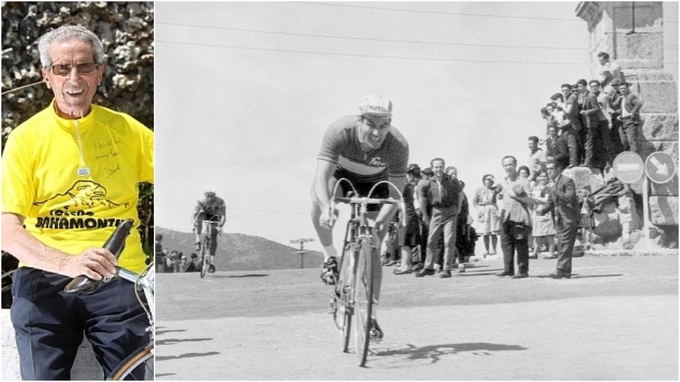 Bahamontes y Pérez Francés en imágenes de archivo.