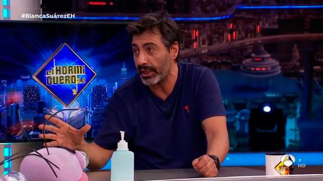 El escritor y periodista madrileño Juan del Val es el marido de Nuria...