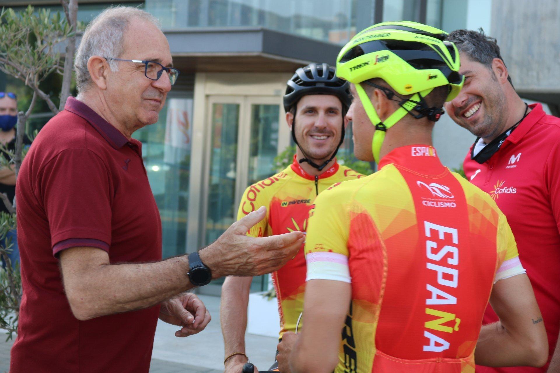 lt;HIT gt;selección lt;/HIT gt; española de ciclismo (RFEC)