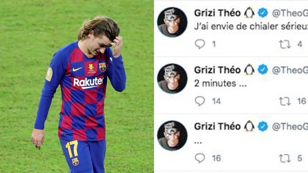 Griezmann's brother to Setien: Two minutes... I want to cry