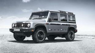 El Ineos Grenadier adopta líneas de los viejos Land Rover Defender.