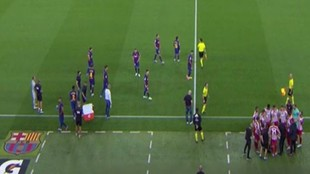 La foto que se ha hecho viral y que muestra la diferencia entre el Barcelona y el Atlético
