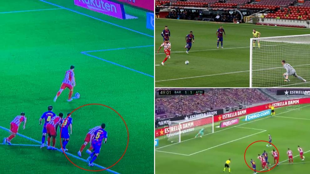 Should every penalty have been retaken in Barcelona's game against Atletico Madrid?