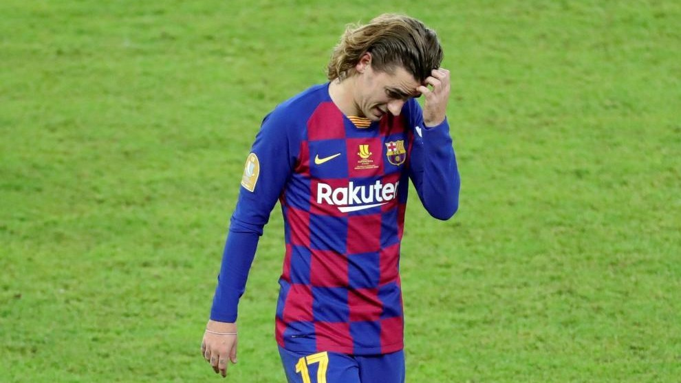Griezmann's father criticises Setien: You are simply a passenger