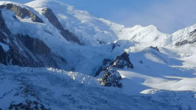 Una imagen del Mont Blanc