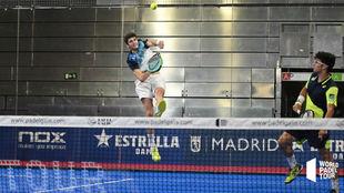 Arturo Coello e Iván Ramírez, en su partido de dieciseisavos de...