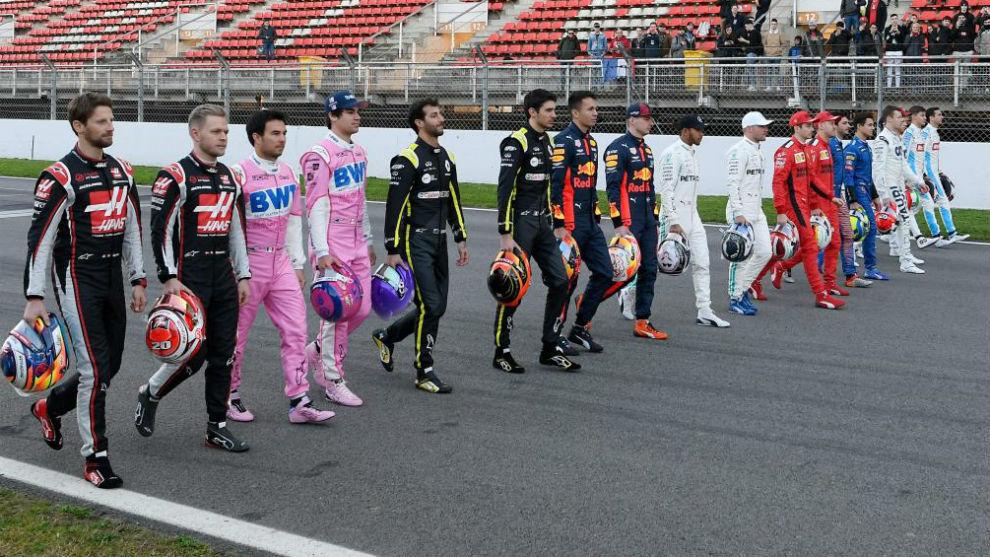 Formula 1's new look