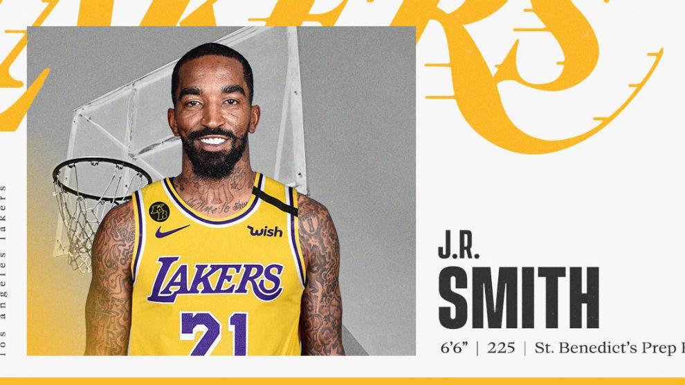 Los Lakers hacen oficial el fichaje de J.R. Smith, escudero de lujo para LeBron