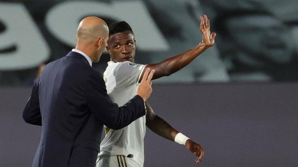 How Zidane transformed Vinicius