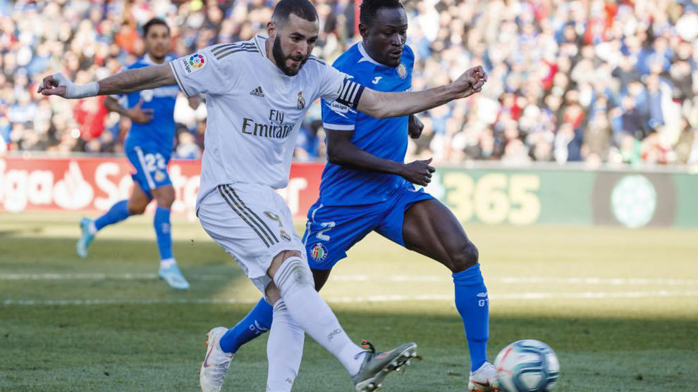 Benzema's duel with 'the Djeneral'