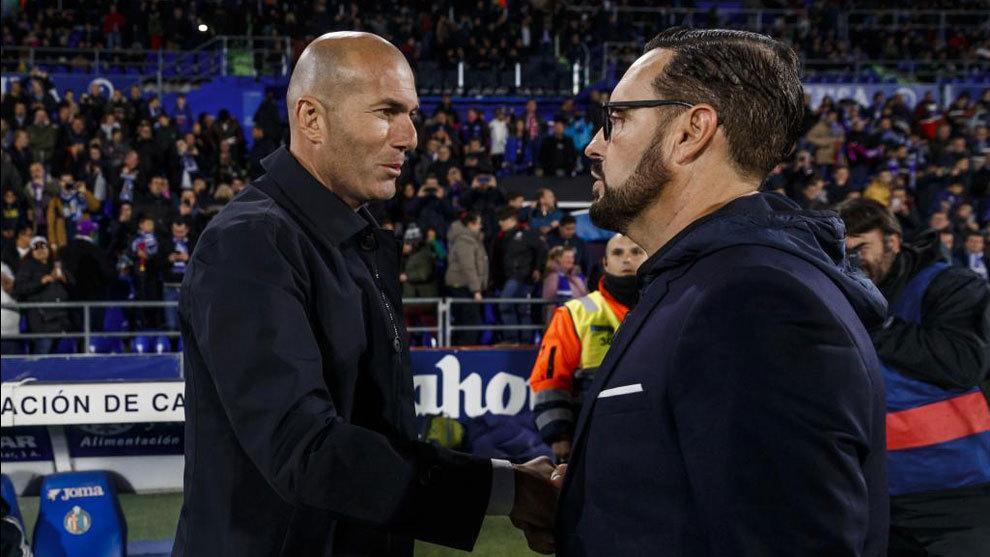 Zidane and Bordalas