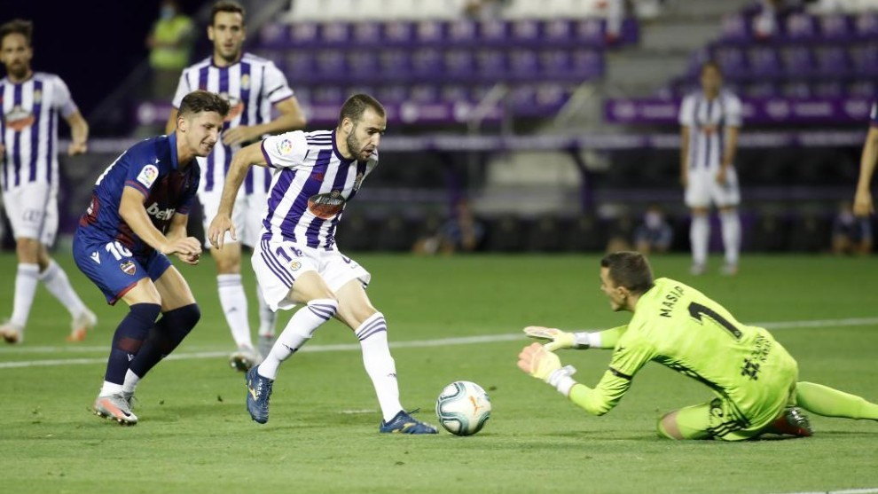 Aitor rescues a point for Levante at Valladolid