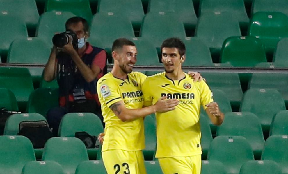 Villarreal warm up for Barcelona by beating Betis