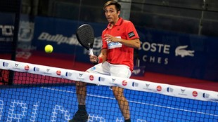 Fernando Belasteguin, en el Estrella Damm Open de Madrid