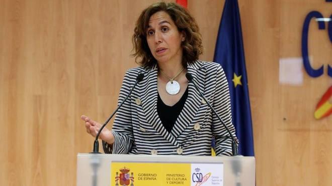 Irene Lozano, presidenta del Consejo Superior de Deportes