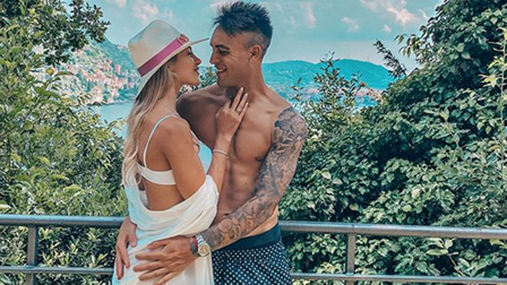 Lautaro in love: His girlfriend Agustina Gandolfo's latest Instagram post