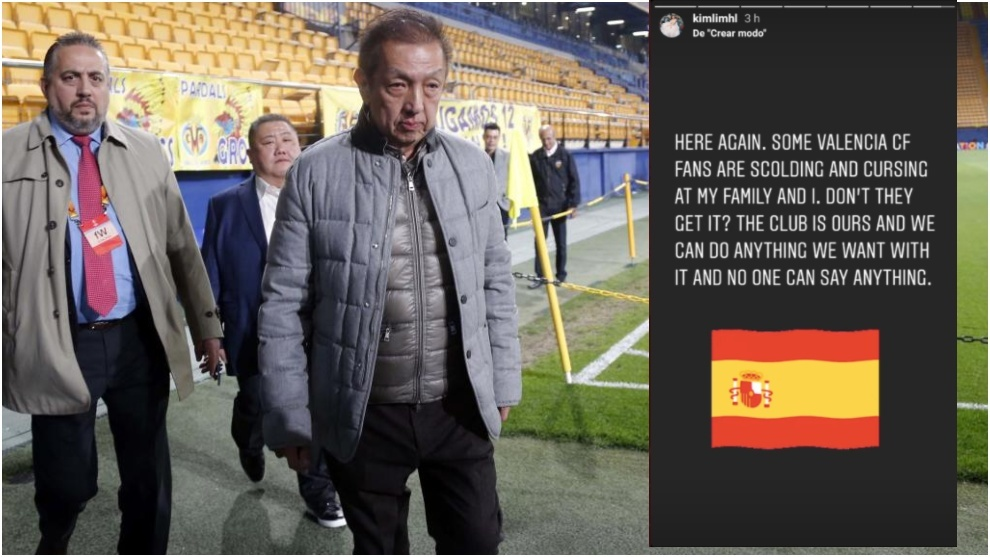 Peter Lim's daughter to Valencia fans: It's our club and we can do what we want with it