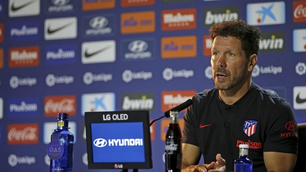 Simeone on Griezmann's late substitution: Three minutes can be decisive, we lost a Champions League final in three minutes