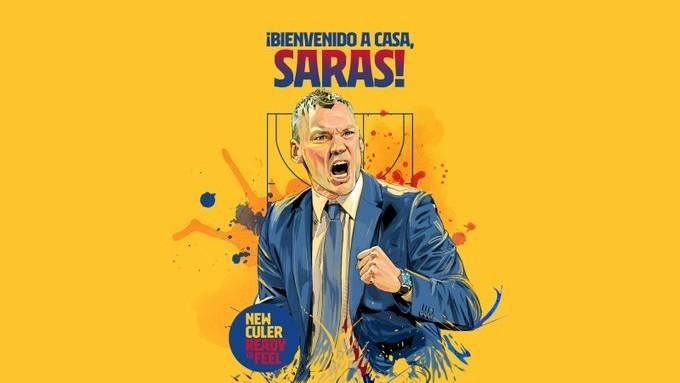 Sarunas Jasikevicius, nuevo entrenador del Barcelona Basket.