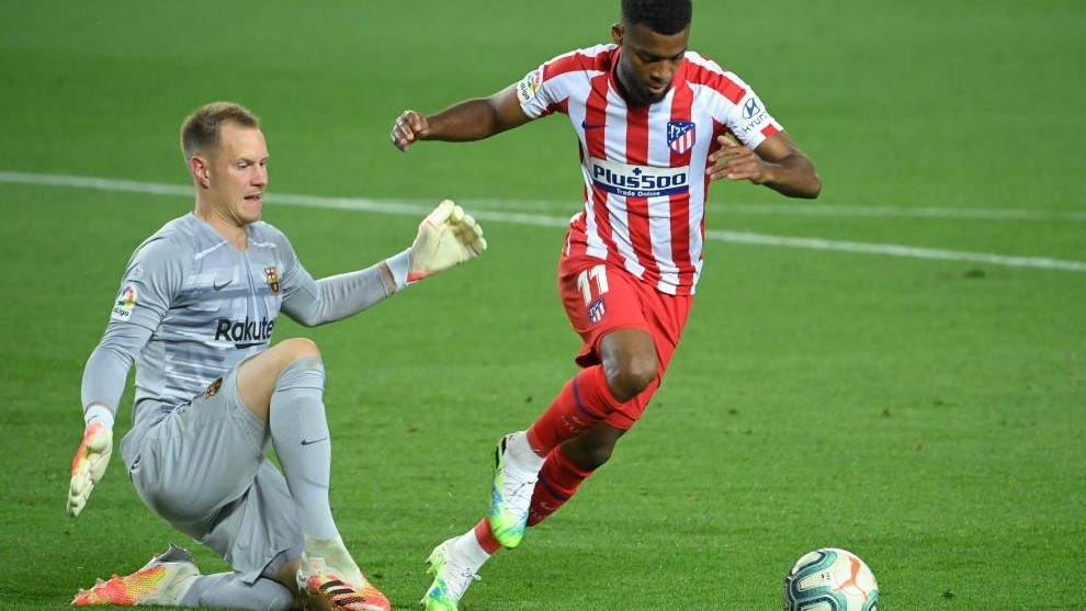 Ter Stegen and Lemar.