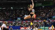 Ivana Spanovic, durante una competición.