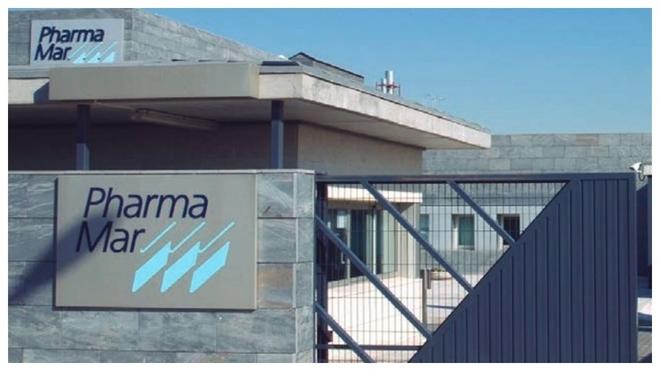 Una de las entradas de la empresa PharmaMar.