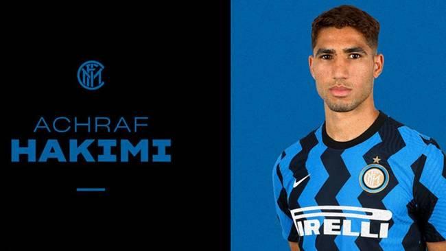 Ya es oficial: El Madrid traspasa a Achraf al Inter