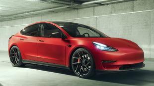 La versión básica del Tesla Model 3 tiene un precio de 49.000 euros...