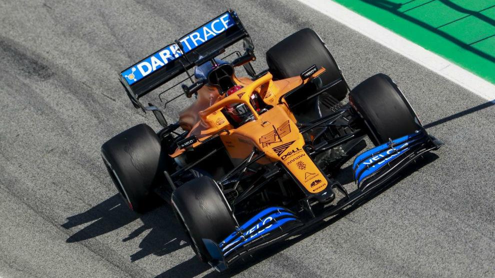 Carlos Sainz regresa mañana al MCL35, que pilotó por última vez en...