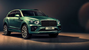 Las nuevas línes del Bentley Bentayga se ajustan al último programa...
