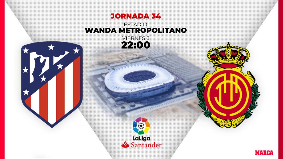 Atlético - Mallorca, el podio vs la vida