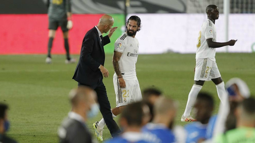 Zidane: Real Madrid defeated Getafe through team spirit