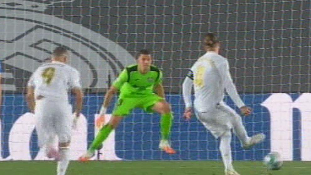 Ramos desatasca el partido de penalti