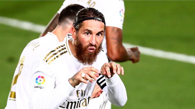 Ramos acercó más al Madrid al título.
