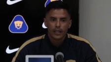 Talavera durante su presentación, la cual fue transmitida por...