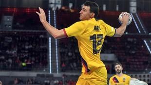 Ariño, durante la final de la pasada Copa del Rey disputada en...